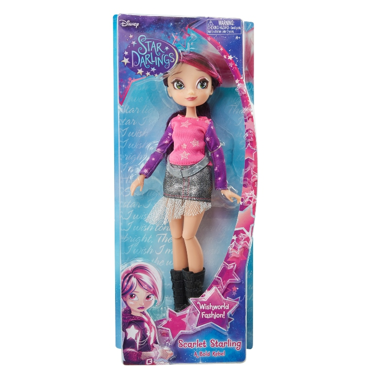 Disney Păpuşă Star Darlings - Scarlett