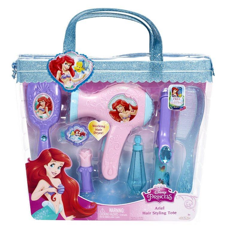 Set de coafura Printese Disney cu uscator de par functional 83952 - Set pentru coafură - Ariel