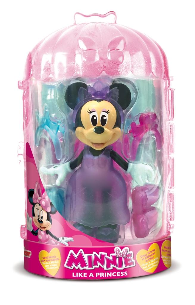 Păpuşă Minnie cu accesorii - ca o prinţesă