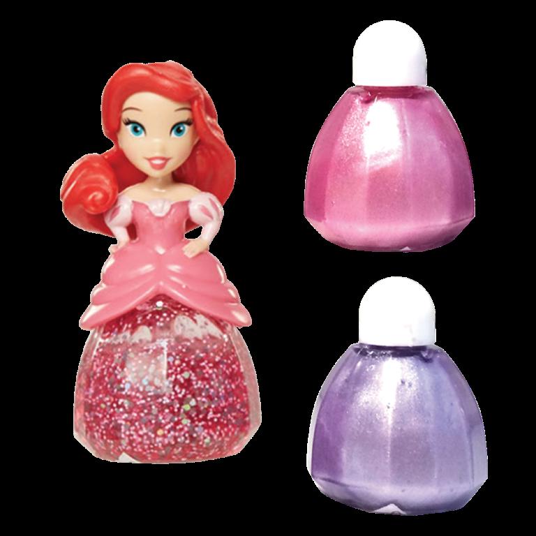 LK Set machiaj Disney Princess colectia 4 - Nail polish Ariel