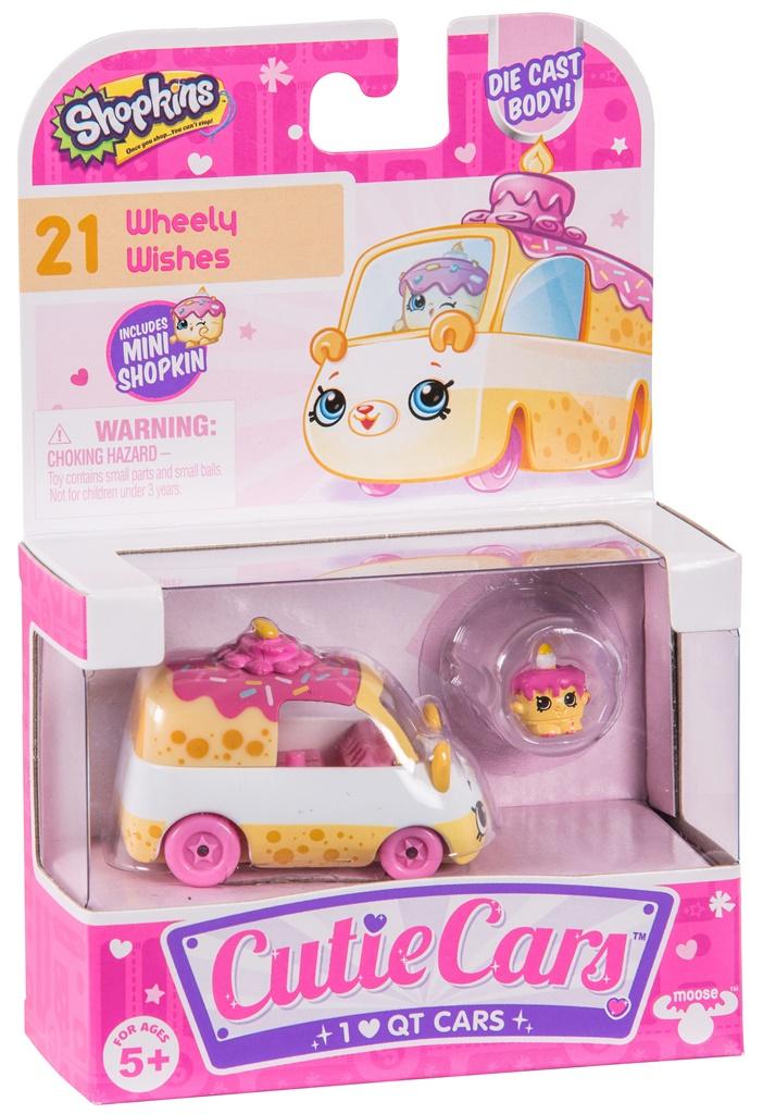 CUTIE CARS, pachet 1 masinuta - Wheely Wishes