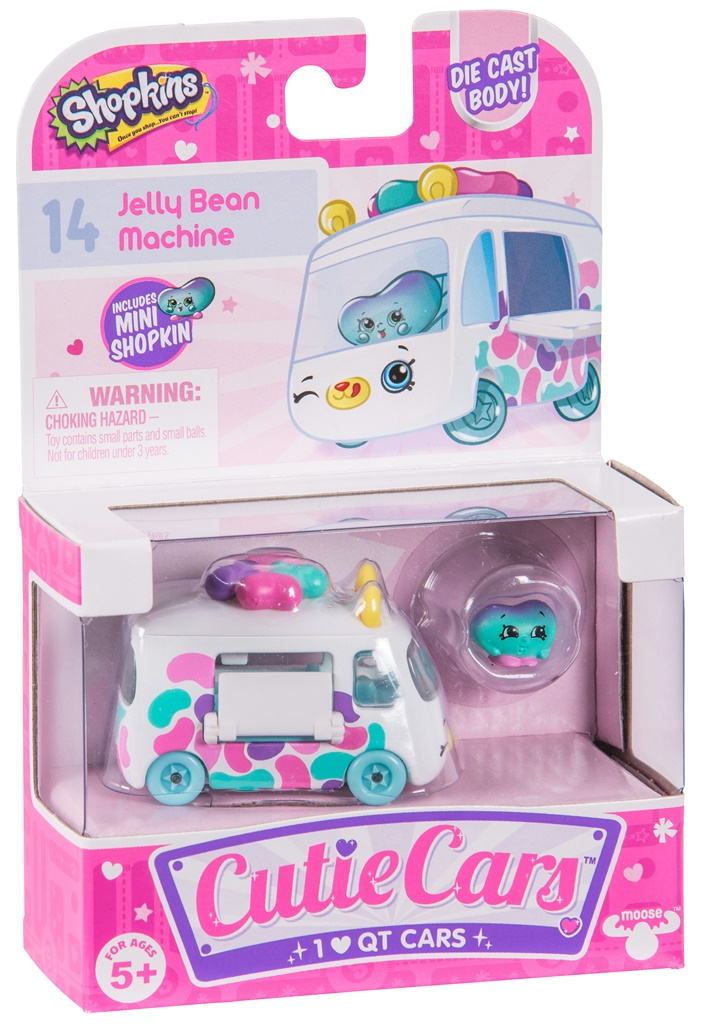 CUTIE CARS, pachet 1 masinuta -  Jelly Bean Machine