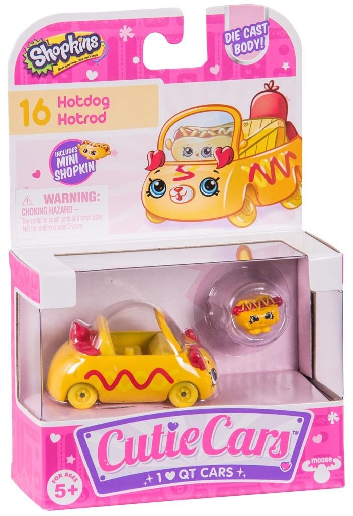 CUTIE CARS, pachet 1 masinuta - Hotdog Hotrod