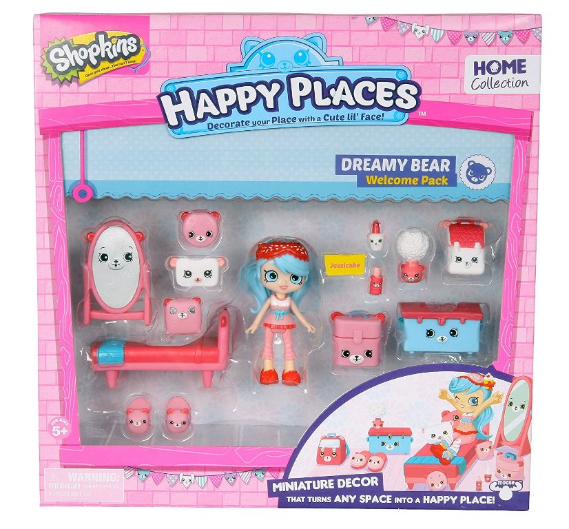 Happy Places S1 - Kit-ul de bun-venit PACK DREAMY BEAR