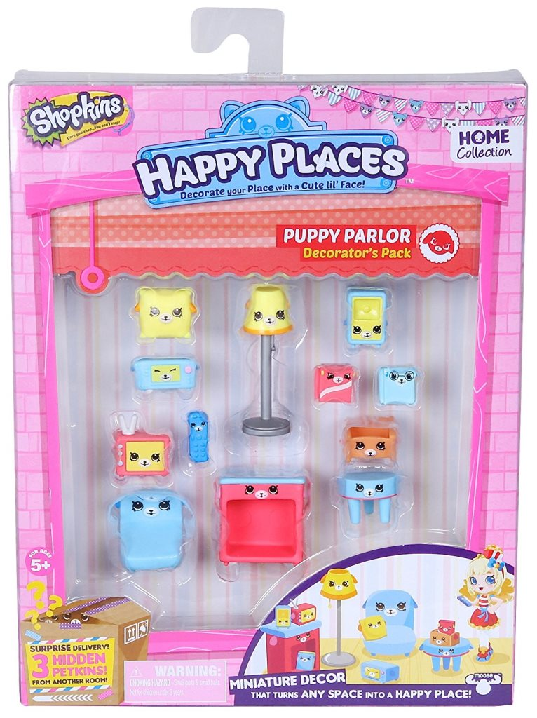 Happy Places S1 - Kit-ul decoratorului PUPPY PARLOR