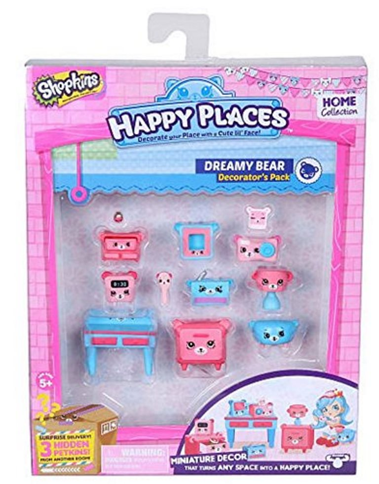 Happy Places S1 - Kit-ul decoratorului DREAMY BEAR