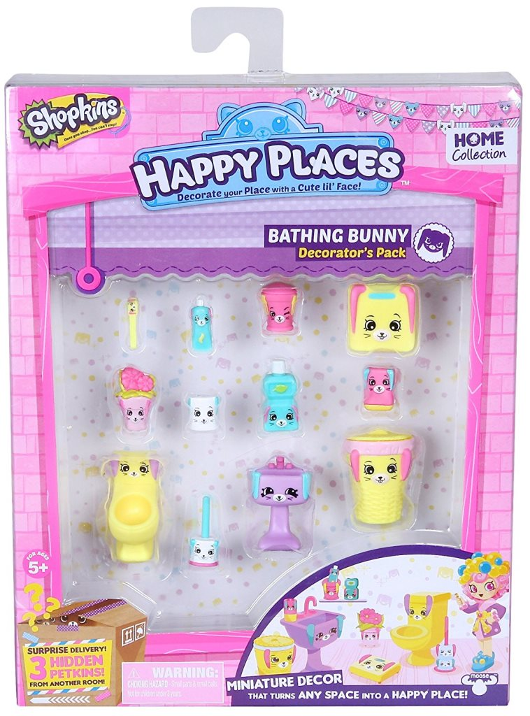 Happy Places S1 - Kit-ul decoratorului BATHING BUNNY