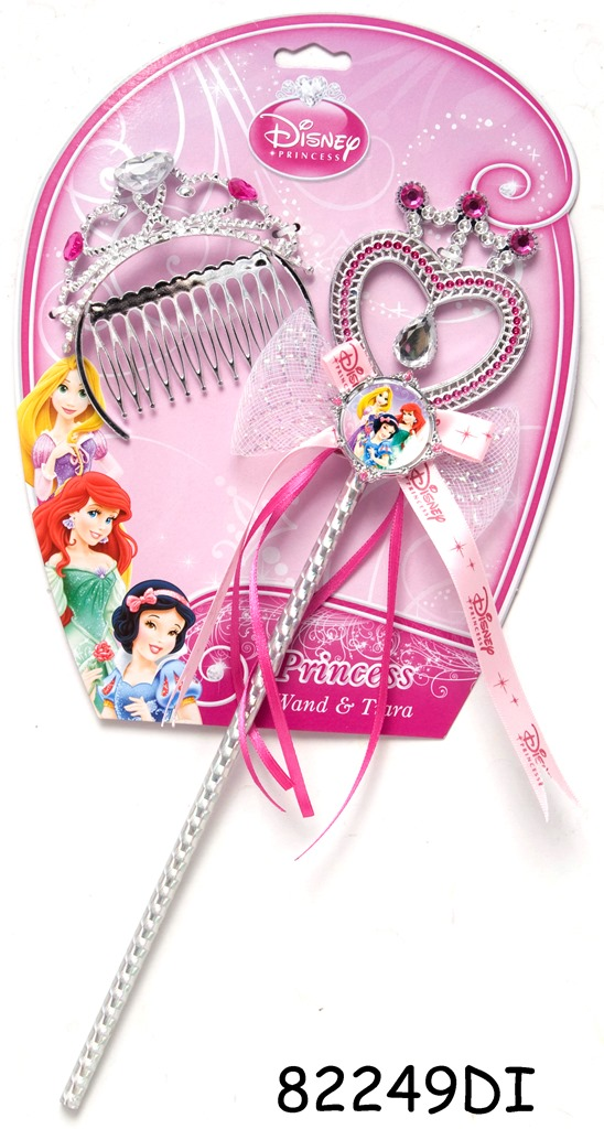 Set baghetă şi diadema (2 piese) - Disney 3 New Princess