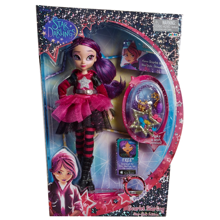 Disney Papusa Fashion Star Darlings - Scarlett