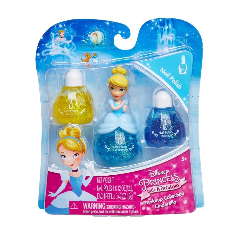 LK Set machiaj Disney Princess -Cinderella nail