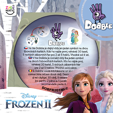 DOBBLE FROZEN 2
