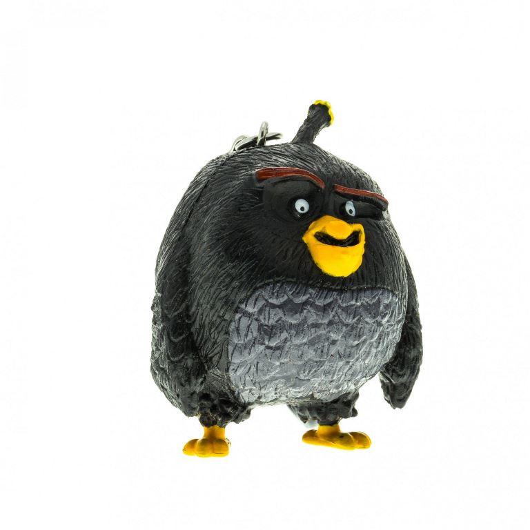 Angry Birds: 3D fig plastic cu agatatoare 7-8,5 cm - Bomb