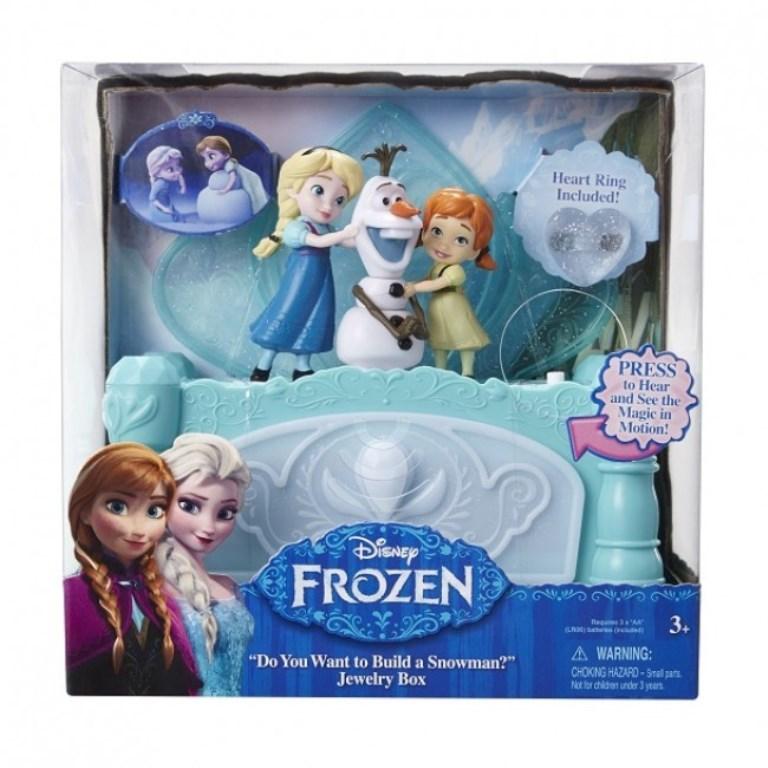 Cutie de bijuterii muzicala Frozen