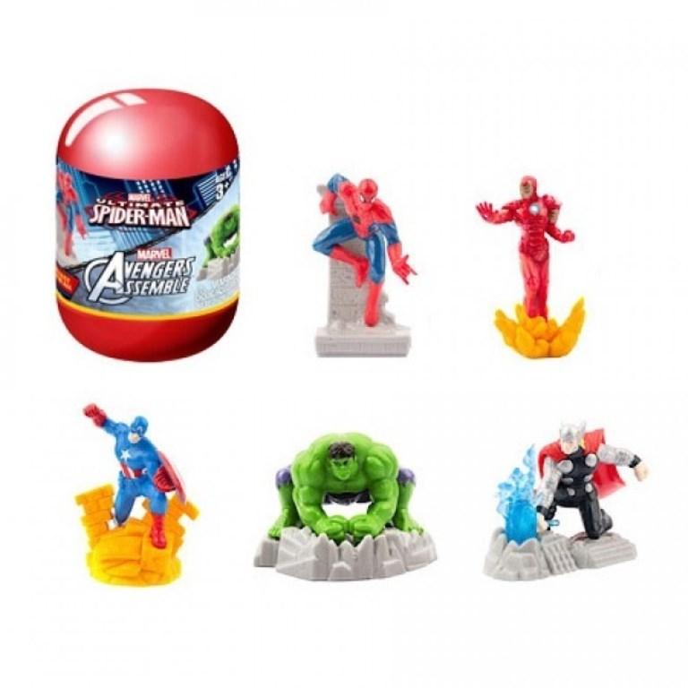 Capsule figurine Marvel snur