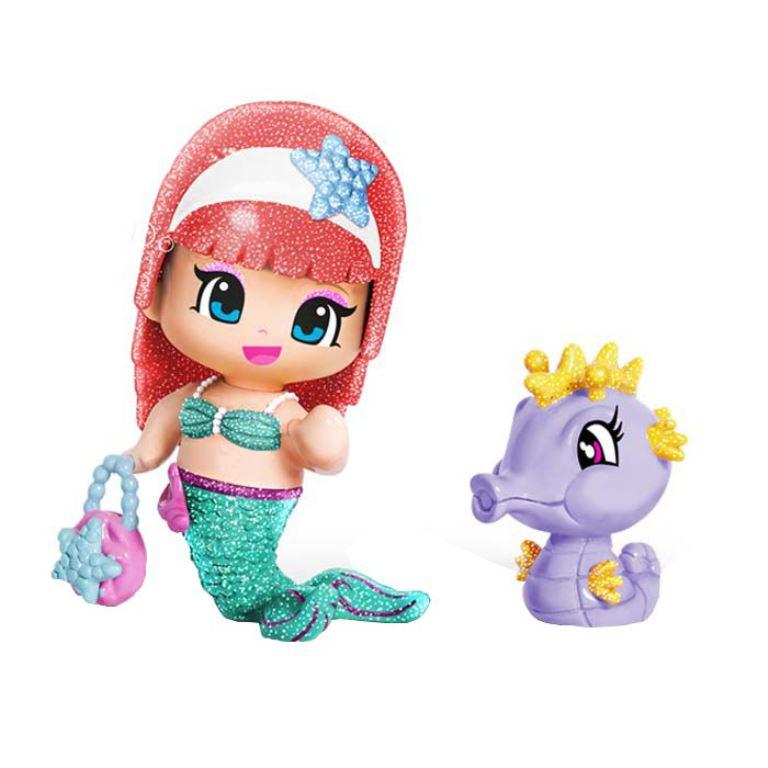 Pyp Figurine cu animale- Sirena si calut de mare