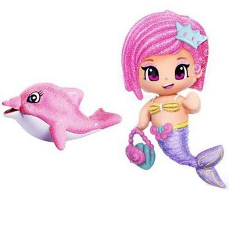 Pyp Figurine cu animale- Sirena cu delfin